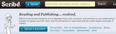 Document delen met Scribd