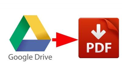 Document in Google Drive opslaan als pdf