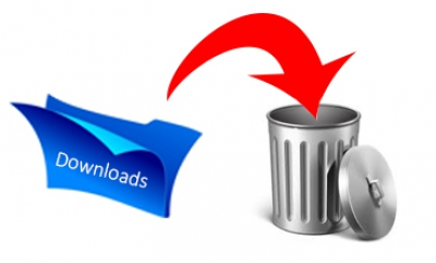 Downloadmap leeg maken in Windows 10
