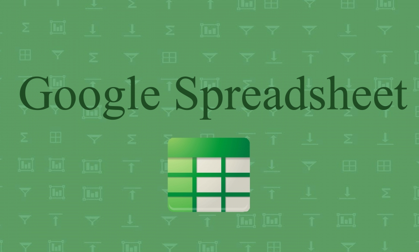 Google Drive: Spreadsheets