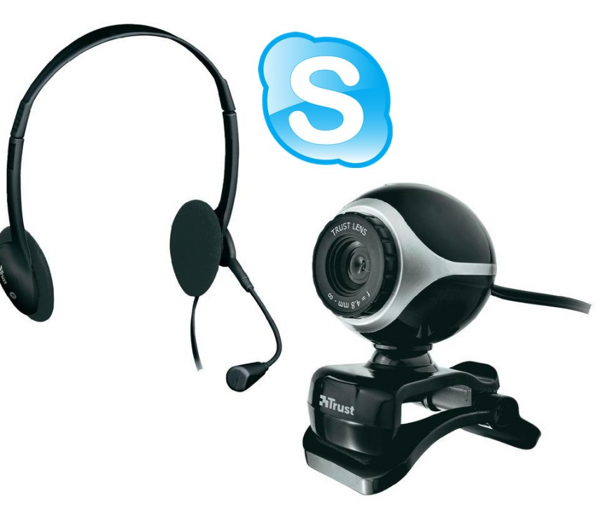 Skype: webcam & headset configureren