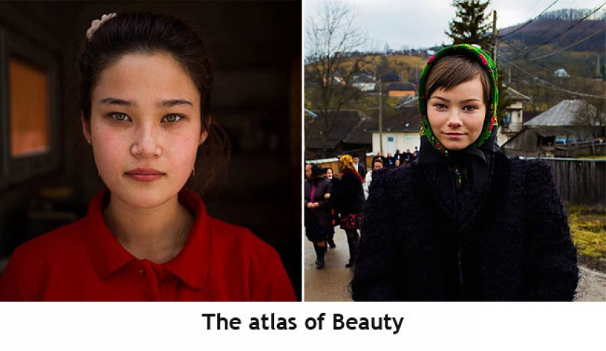 Vrouwen van overal: the atlas of beauty
