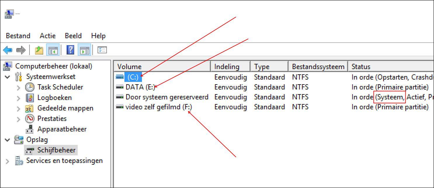 Stationsletter windows herkent harde schijf niet meer windows voor webbouwers tips - Externe verwijderbare partitie ...